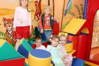 детская игровая комната Джунгли