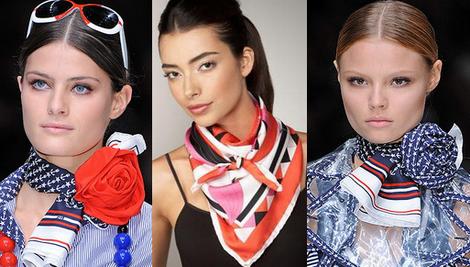 Мастер-класс по завязыванию шарфов и платков в Нижнем Новгороде