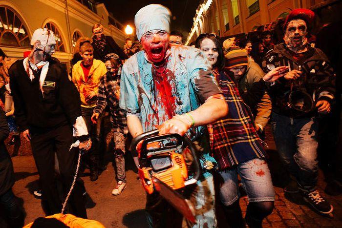 Флэшмоб Хэллоуин в Нижнем Новгороде