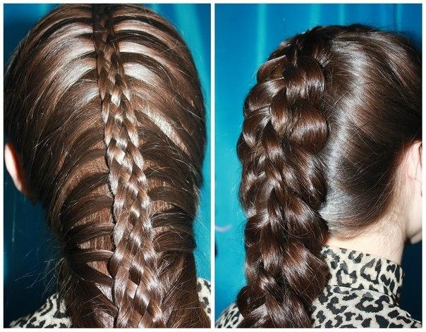 Мастер-класс по прическам: плетение кос