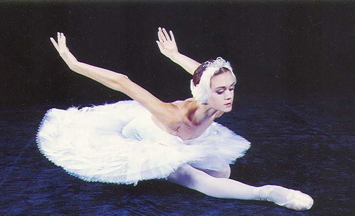 Прима русского балета Ульяна Лопаткина в Нижнем Новгороде